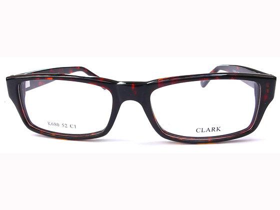 Montatura vista CLARK 680 001 52 16  completo di lenti da vista antiriflesso
