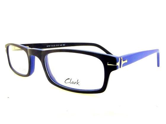 Montatura vista CLARK 707 015 51 21  completo di lenti da vista antiriflesso