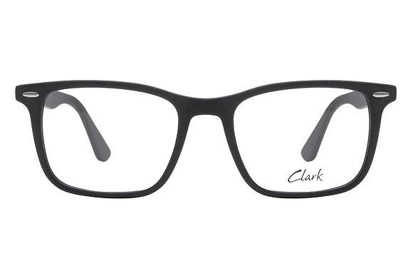 Montatura vista CLARK 1137 001 53 18  completo di lenti da vista antiriflesso
