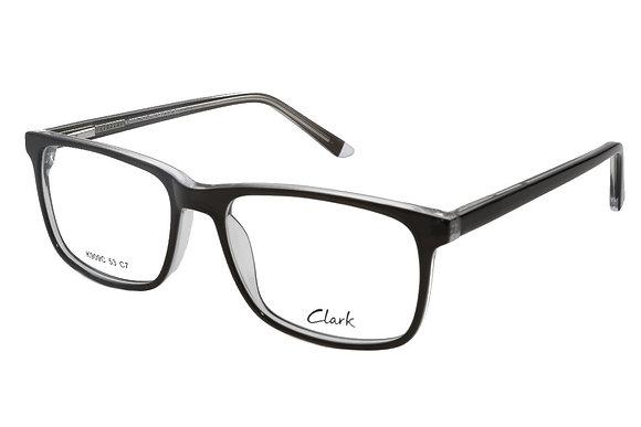 Montatura vista  CLARK 909  007  53  16  con lenti protezione LUCE BLU