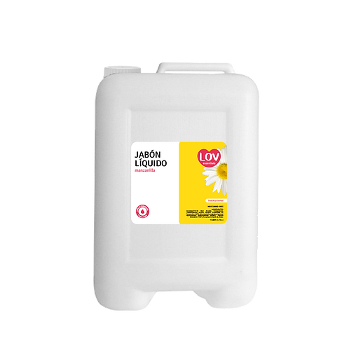 Jabón líquido Lov Manzanilla 1 Galón