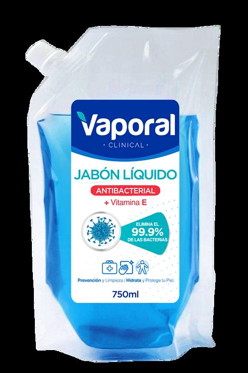 Jabón líquido Antibacterial 750 ml-(Caja 12 unidades)