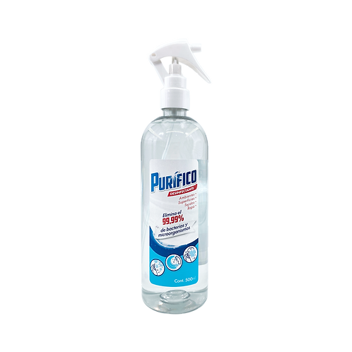 Desinfectante Purifico  500 ml-(Caja 12 unidades)