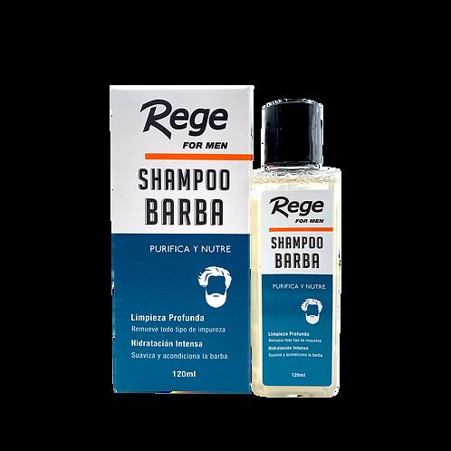 Shampoo para Barba 120 ml-(Caja 12 unidades)