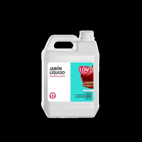 Jabón líquido Lov Manzana Canela 1 Galón