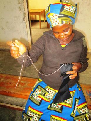 Anatalie Nyampinga - Embroiderer.