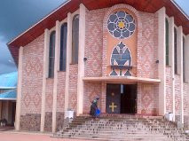 The Shrine of our Lady in Kibeho