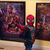 Young spider man was the winner of our Avengers End Game contest!