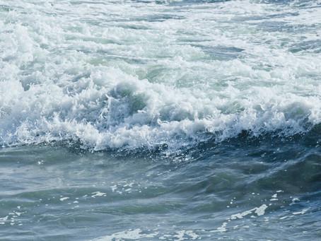 Caught in a rip tide