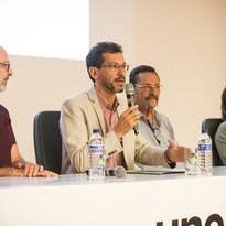 Prof. Dr. Cesar Martins, diretor do Instituto de Biociências da UNESP, fala sobre a importância da parceria entre a Universidade e o empreendimento.