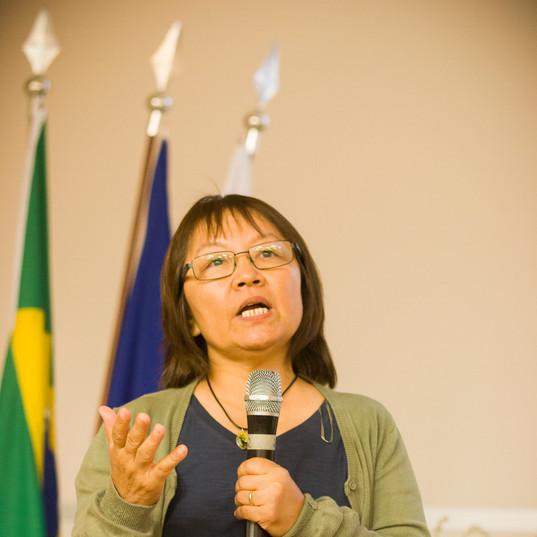 Profa. Dra. Silvia Mitiko Nishida fala sobre a importância da área de soltura do empreendimento e recuperação do cerrado