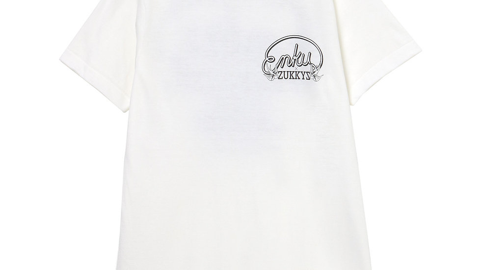 ZUKKYZ×円空 限定Tシャツ(WHITE)
