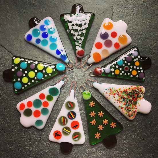 FULLY BOOKED Fused Glass Christmas Decorations Saturday 13th Nov 2021