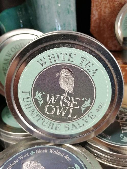 Wise Owl Furniture Salve White Tea 4oz