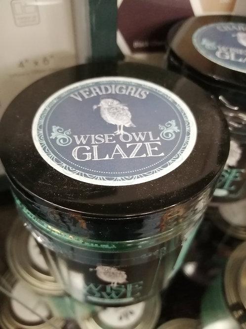 Wise Owl Glaze Verdigris 8 floz