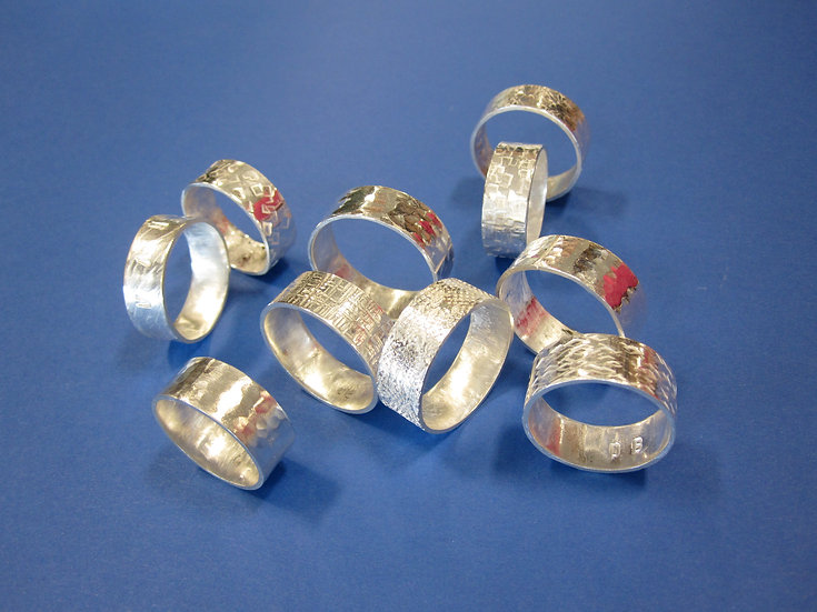 Make a silver ring in a day: (Dates TBC)