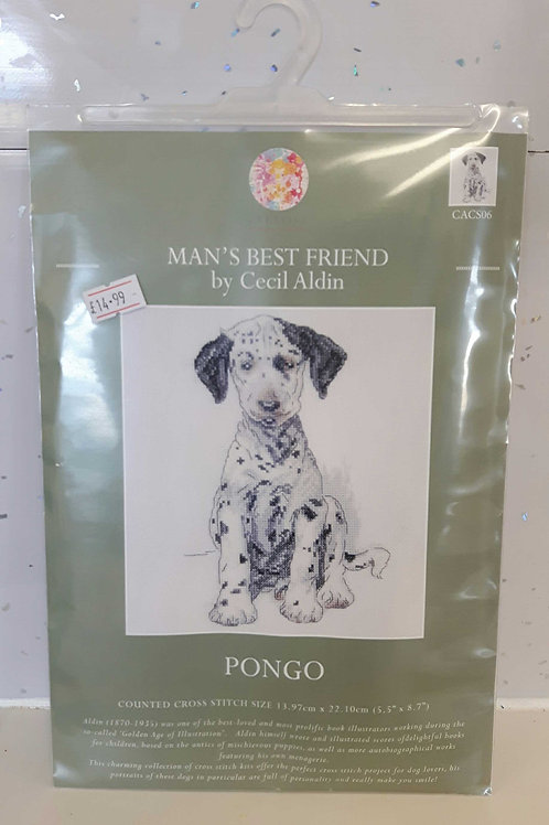 Cross Stitch - Pongo