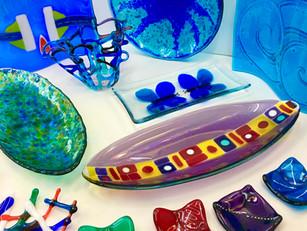 """""""I'm not creative"""" - then these Fused Glass Courses are for YOU!"""