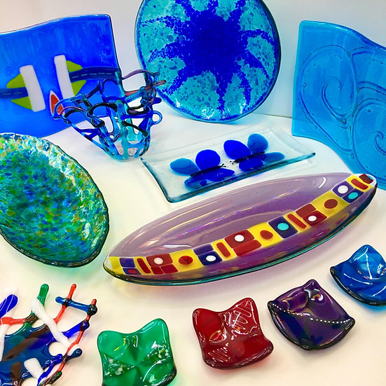 Fused Glass Beginners Saturday 30th April 2022