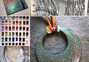 Travelling back in time with enamelling!