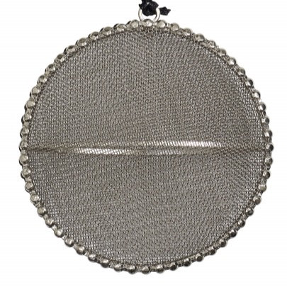 Silver Mesh Decoration