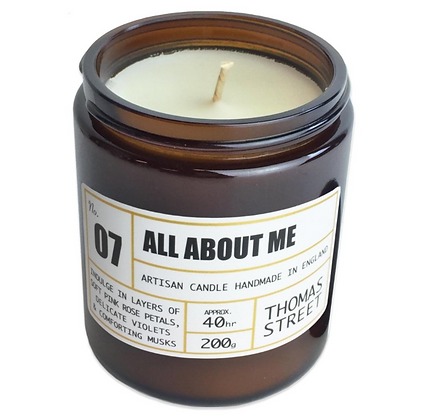 All About Me Candle
