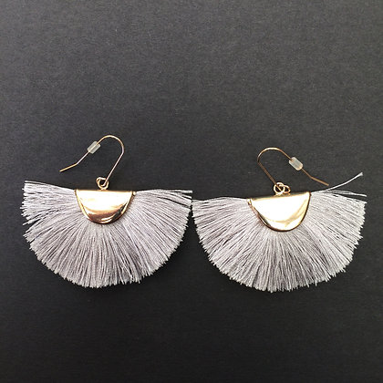 Nella tassel drop earrings