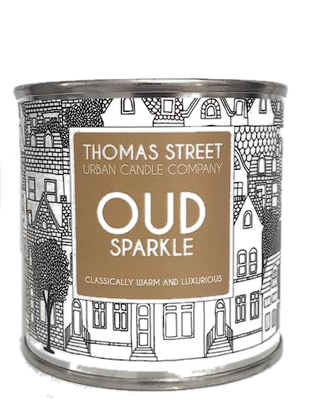 Oud Sparkle Candle Tin (small)