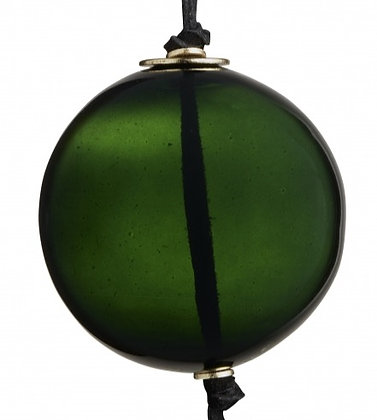 Green Glass Bauble Decoration
