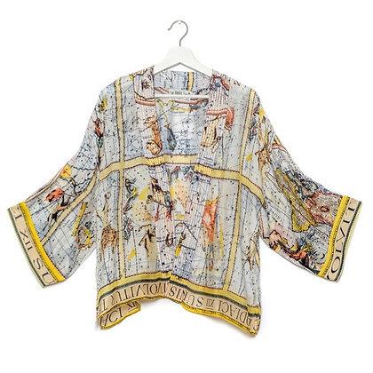 One Hundred Stars Zodiac kimono jacket