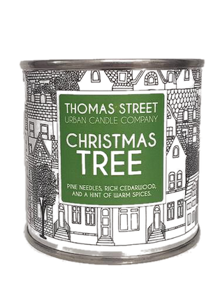 Christmas Tree Candle Tin (small)