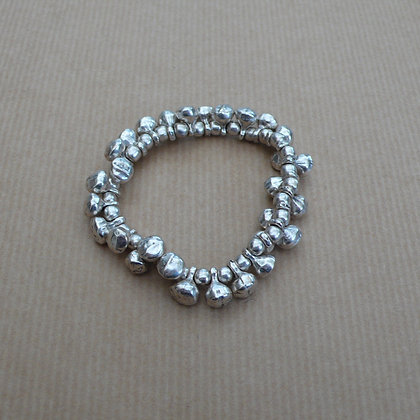 Rustic stretch bracelet