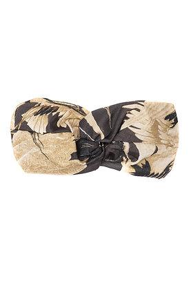 One Hundred Stars Stork grey headband