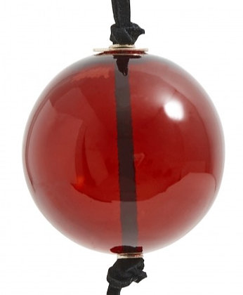 Red Glass Bauble Decoration