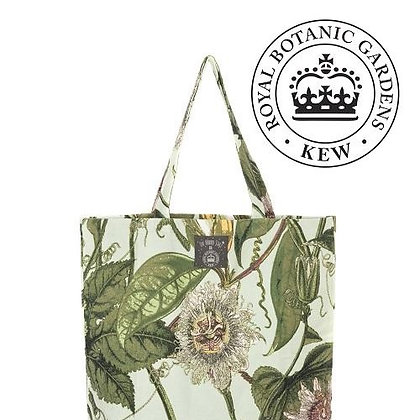 One Hundred Stars Kew Passionflower aqua bag