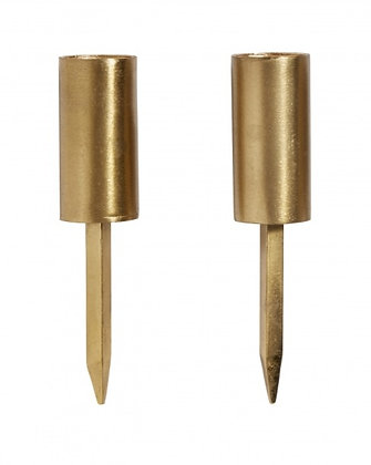 Pair of Candle Cups with spikes