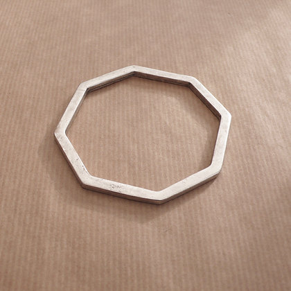 Hexagonal bangle