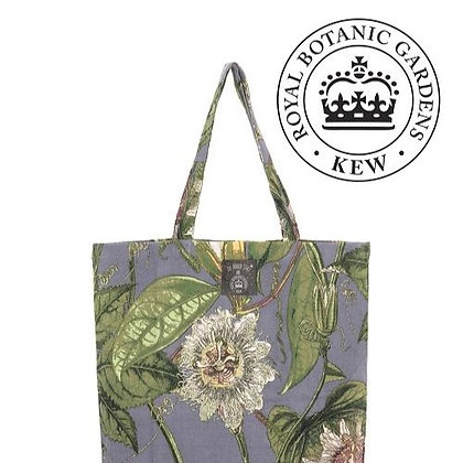 One Hundred Stars Kew Passionflower grey bag