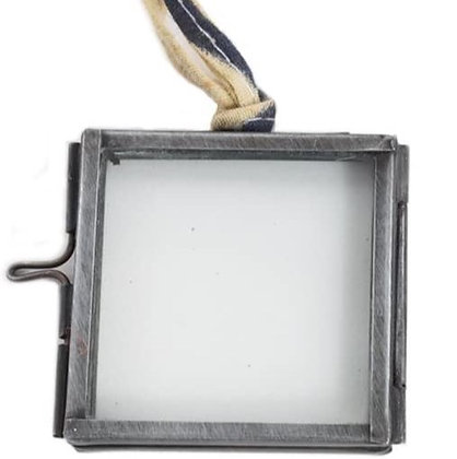 Tiny Kiko Square Nickel Frame Decoration