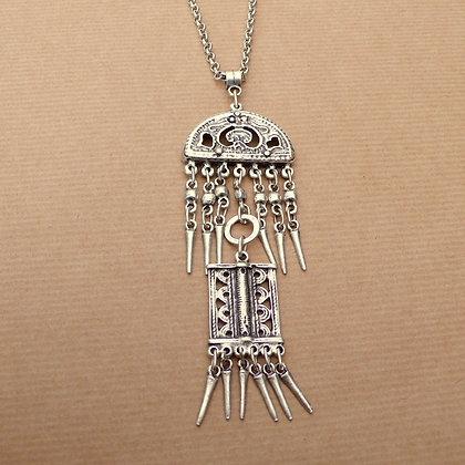 Boho tiered pendant