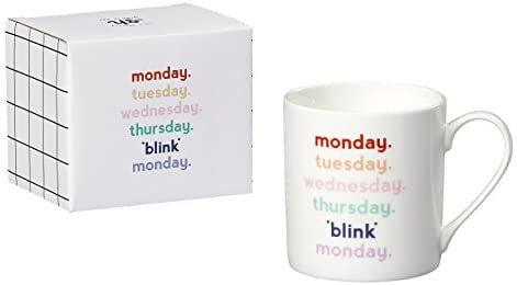 *Blink* Monday mug