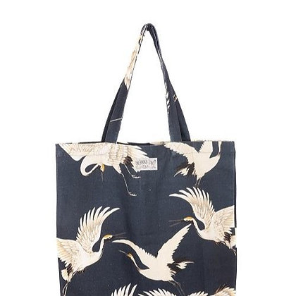 One Hundred Stars Stork grey bag
