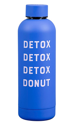 Detox, Donut Water Bottle