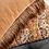 Thumbnail: Double Sided Two Tone Terracotta/Gold Velvet Cushion