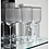 Thumbnail: Pair of Silver Rim Ribbed Glass Tumblers