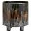 Thumbnail: Brown Art Glazed Plant Pot on Feet