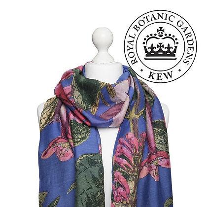 One Hundred Stars Kew Magnolia purple scarf