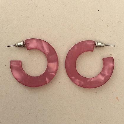 Nina chunky hoop earrings