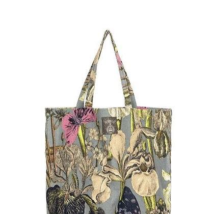 One Hundred Stars Kew Iris grey bag