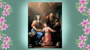 26 de julho - Dia de Sant'Ana e São Joaquim